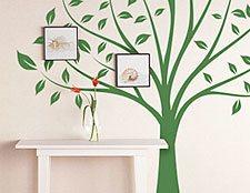 """Интерьерная наклейка на стену """"дерево"""". На этой наклейке можно разместить фотографии своей семьи"""